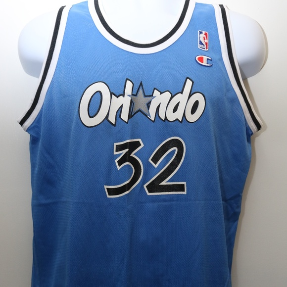 7ee8a90e2c5 Champion Shirts | 90s Vintage Shaquille Oneal Orlando Magic Jersey ...